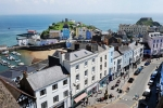 Tenby from St Mary's Church tower