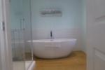 Luxury bath and walk in shower