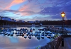 Tenby Harbour4 high tide&sky