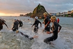 Ironman sunrise swin