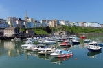 Tenby Harbour high tide